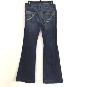 7 For All Mankind Dojo Flip Flop Flare Jeans 26